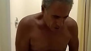 Jim masturbating for you before taking a shower