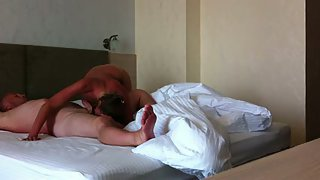Watch us pummeling around in the bedroom having orgy together