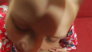 Girl rigid homemade humps with aged guy deep in her puss