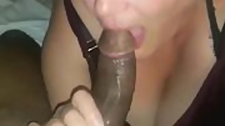 Oh my god this granny deep throats cock like a super starlet