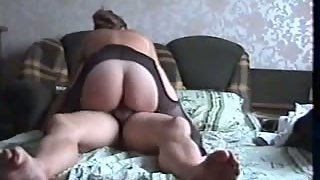 Hour long intercourse tape mature couple real life housewife fuck-fest movie in bed
