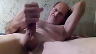 Jerking my firm throbbing parent cock