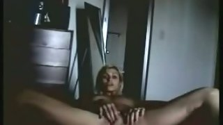 My wife masturbating for me on the floor hot blonde amateur