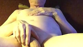 Exposed queer pervert superslut offers anus and penis for inspection