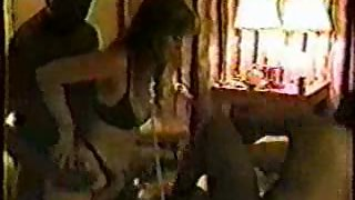Interracial hotwife gangbang wife used by a gang of black males