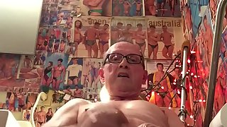 Revealed faggot pervert slut jerksoff and licks cum from virgin flavored rubber