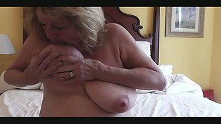 For big inborn tits lovers extraordinary tit nipple play ddd bowl knockers