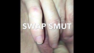 Watch my wife rub herself as i help out and showcase you inside