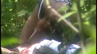 Public amateur intercourse in the woods by a local beauty spot hidden cam