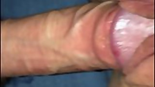 Wife's pussy ravaged until humid listen to her moan