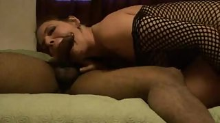 A slutty wife having a superb fucking time with her hung lover