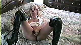 Hot blonde milf orders you to obey her