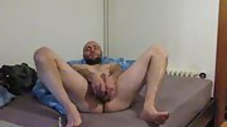 Stefan exposure gay with fucktoys in the bum