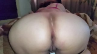 Wife ass milky and curvy body with big orbs and mighty feet