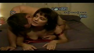 Horny couple at home