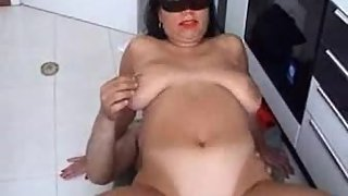 Huge melon italian wifey gets naughty with her lover