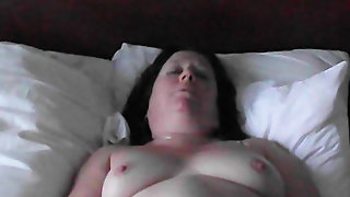 My slutty milf posing for me to show you, what do you think