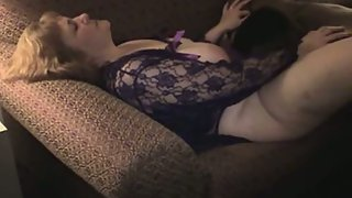 Chubby wife interracial cuckold sex black bull mating her from behind