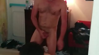 A youthfull boy who loves to get nailed