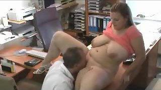 Mischievous colleagues getting all humid & horny at their office