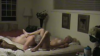 Mature amateur couple homemade porno orgy in bedroom at weekend