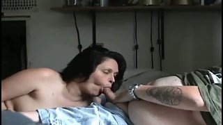 Phat shag gets penis sucked