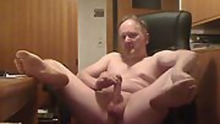Karsten jerks off and cum and let you show him