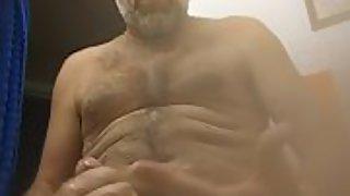Danrun pops off a quickie cum on titty tuesday