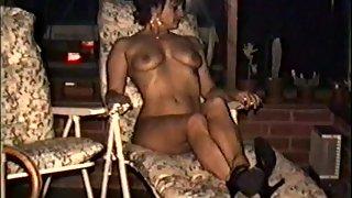 Yvonne's big tits and hard nips