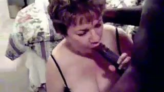 Mature cheating milf mixed-race sex with black pecker stud brought home