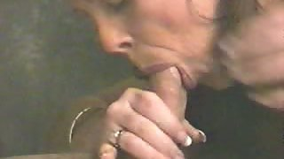 Pierced tongue bj