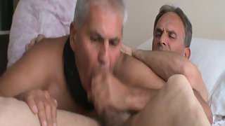 Spunk in mouth to cumshot after being providing a long slow blowjob