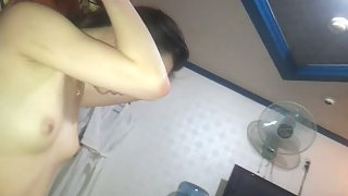 Korean wife private intimate home vid revealing sexual activities