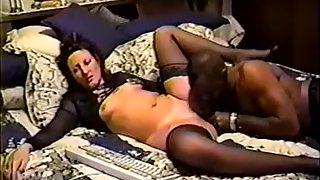 Well gifted bull blacking my wifey on webcam