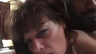 Sex-positive mature brunette gets her pussy rammed