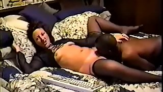 Cuckold ann and her dark-hued lover recorded in our bedroom