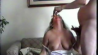 Andra june being waxed and fucked and jizz on
