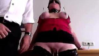 My hot redhead-slave training - lession 2