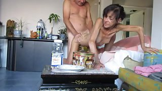 My skinny wife sylvia small tites