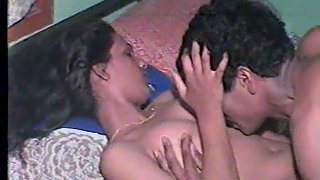 Timid indian getting romped by her lover