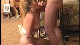 Naughty mature whore knows how to deep-throat and deepthroat
