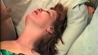 Cumming over the wife