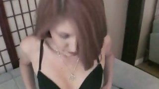 Amateur ginger-haired sex gauze filming with her boyfriend pov