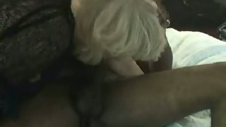 Blonde mature and black cock luvs breeding black guys massive turn on