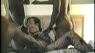 White milf bbw bod pantyhose interracial hook-up gang-bang