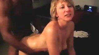 Cougar is banging superb by a black man her husband arranged cuckold sex