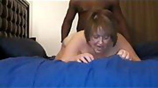 Bbw slut loves a good black dick fucking