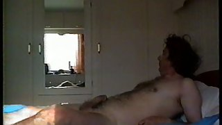 Mature married couple homemade sex movie shot on a weekend