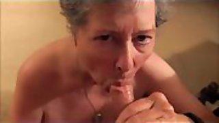 Slut wife eats cum while i video her
