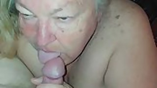Pov blow job from 58 year old ample tit wifey